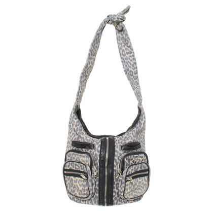 Alexander Wang Leather shoulder bag with print