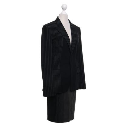 Jean Paul Gaultier Costume with pinstripe
