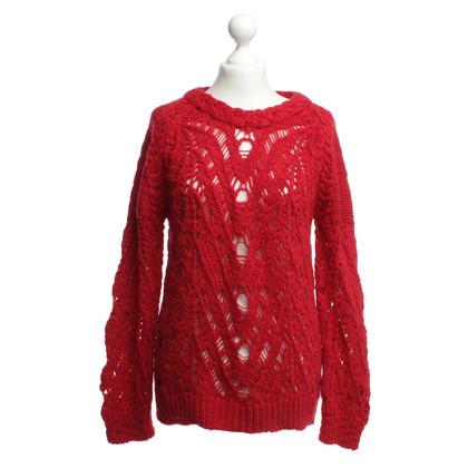 Iro Maglione di lana in rosso