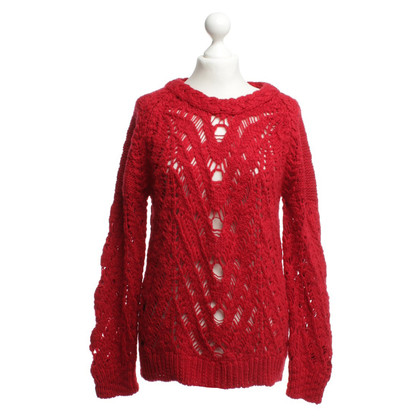 Iro wool jumper in red