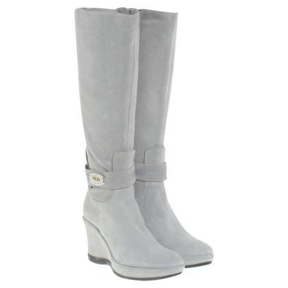 Cesare Paciotti Boots in Gray