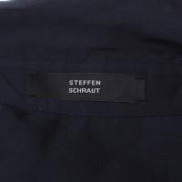 Steffen Schraut Blouse in dark blue