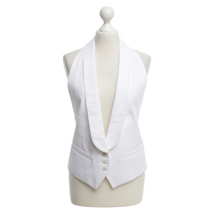 Dries van Noten Vest in bianco