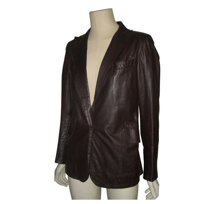 Costume National Blazer aus Leder
