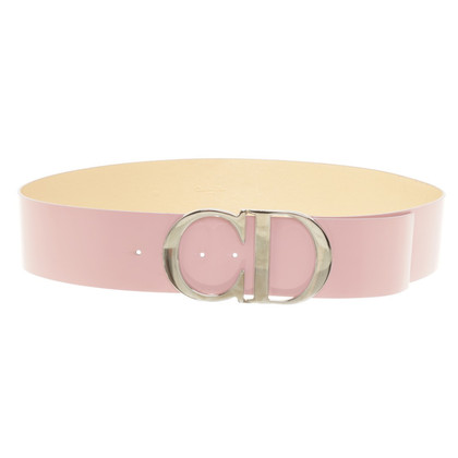 Christian Dior riem in Pink