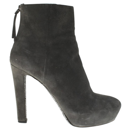 Miu Miu Ankle Boots in Gray