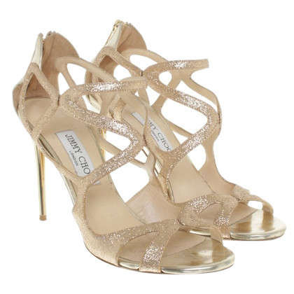 Jimmy Choo Sandals in gold