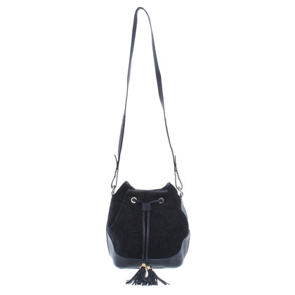 "Kaviar Gauche ""Le Mini Sac Stardust"" in black"