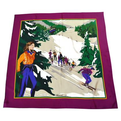 Chopard Zijden sjaal met print