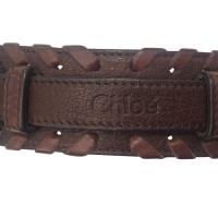 Chloé Chloé Cintura in pelle marrone