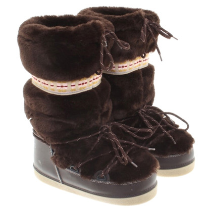 Marc Jacobs Boots with fur trim