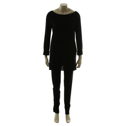 DKNY Cashmere ensemble in black