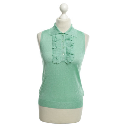 Moschino Top in green with fancy