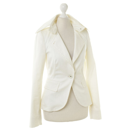 Drykorn white cotton Blazer