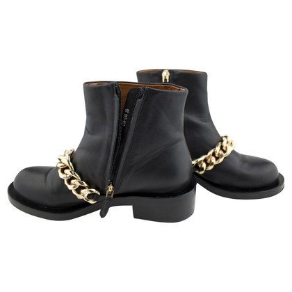 Givenchy ankle chain boots