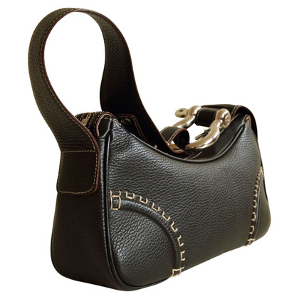 Burberry Leather handbag in black