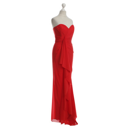 Badgley Mischka Kleid in Rot
