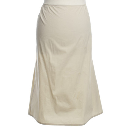 Jil Sander skirt in cream