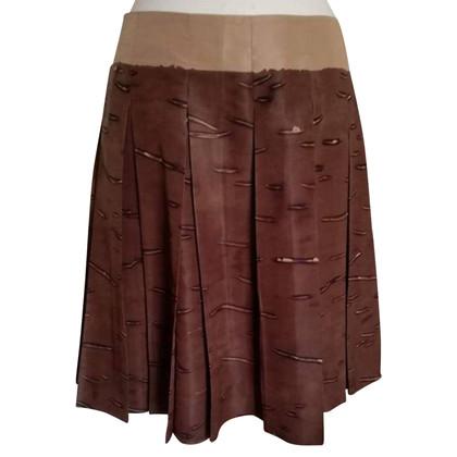 Prada Midi rok van zijde