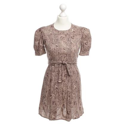 Miu Miu Pattern print dress