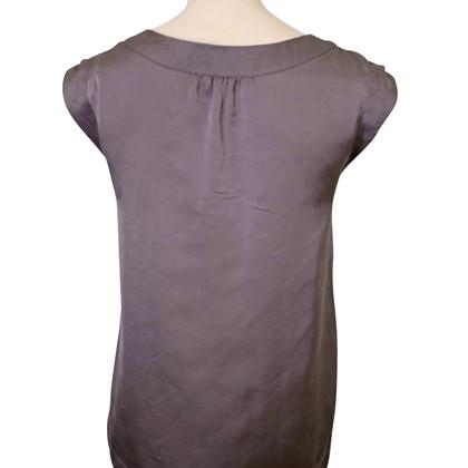 Comptoir des Cotonniers Gray silk top