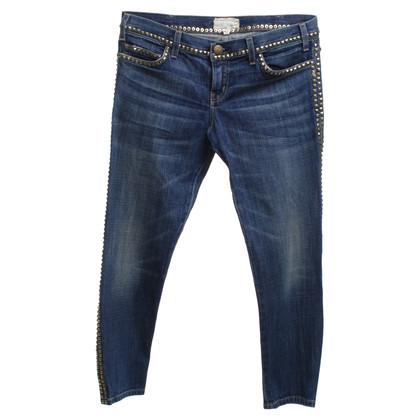 Current Elliott Skinny jeans in blu medio