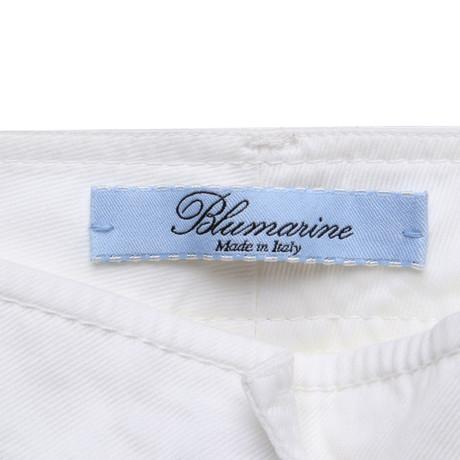 Blumarine 7/8-Hose in Weiß Weiß Modestil Spielraum 2018 Neu Am Billigsten FBiaI5DVYY