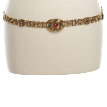 Chanel Vintagegürtel con pietre semipreziose