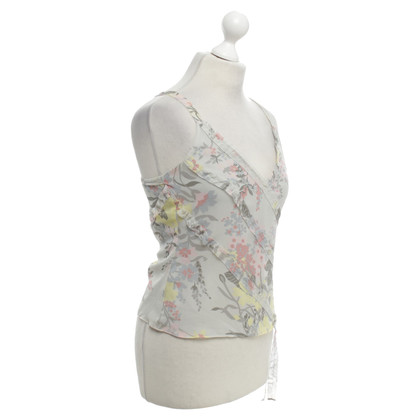 Ted Baker Silk top with floral print