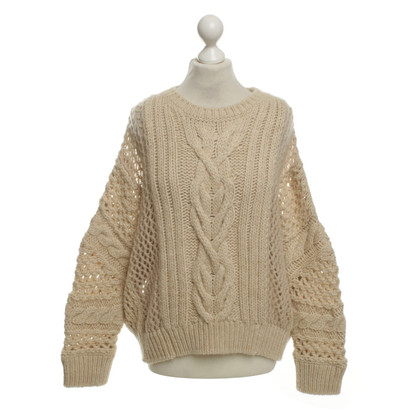 Stefanel Knitted sweater in cream