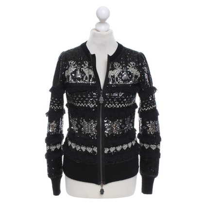 Manoush Bomber con paillettes