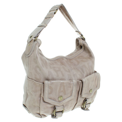 Marc Jacobs Leather shoulder bag in Taupe