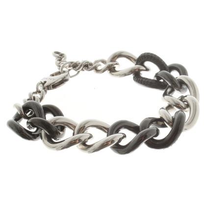 Donna Karan Bracelet in silver / black