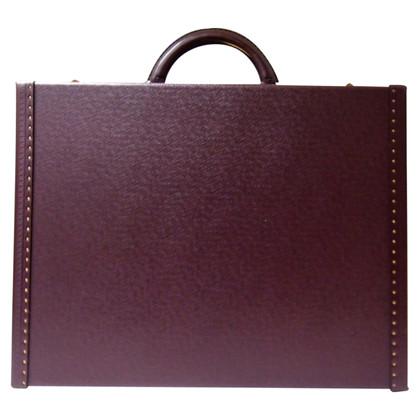 Louis Vuitton Aktentasche aus Taiga Leder