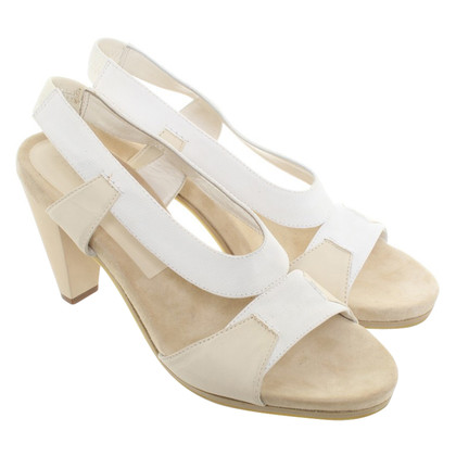 Jil Sander Sandals in cream white
