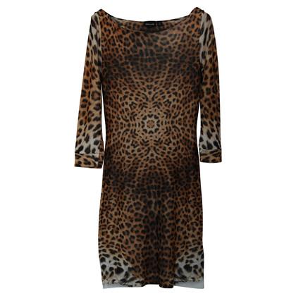 Just Cavalli Handtekening Leopard Print jurk
