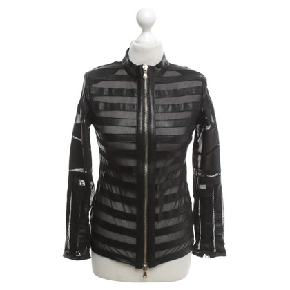 Caban Romantic Jacket with perforation