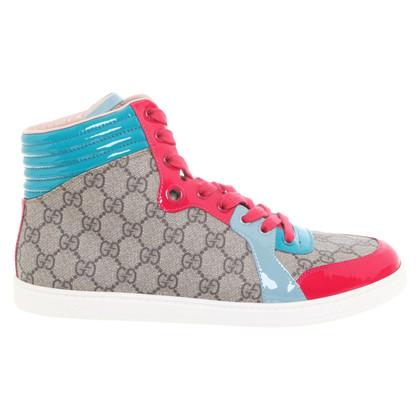 Gucci Sneakers alte in multicolor