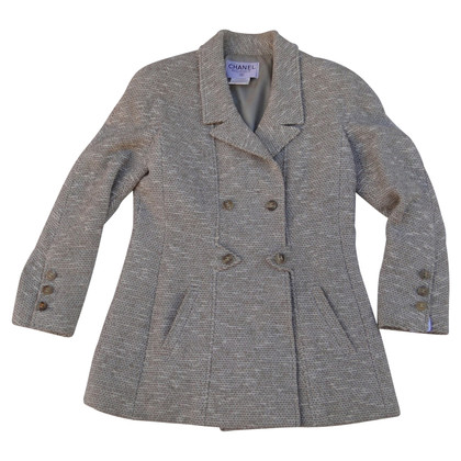 Chanel Giacca doppiopetto in tweed