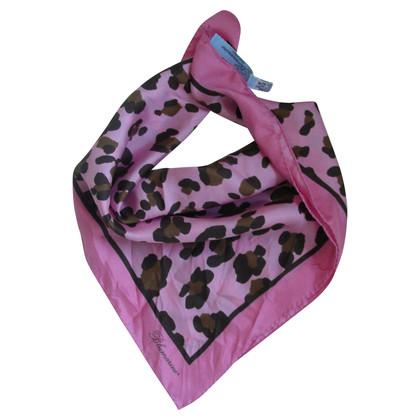Blumarine Silk scarf Leo