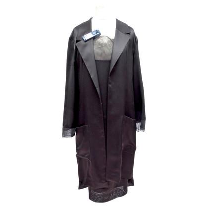 Chanel Jurk en jas van zijde