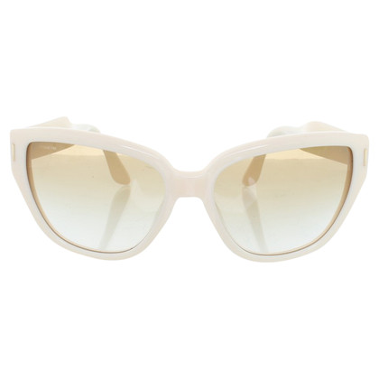 Miu Miu Sunglasses in creamy white