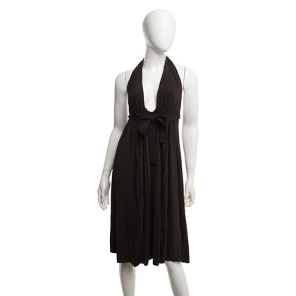 Dsquared2 Neckholder-Kleid in Braun