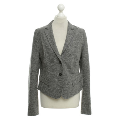 René Lezard Wool blazer in grijs