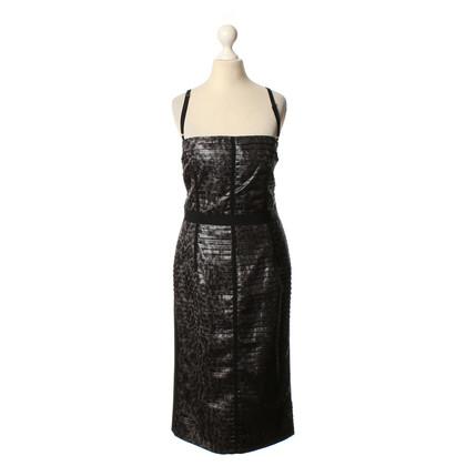 Dolce & Gabbana zwart bandeau jurk