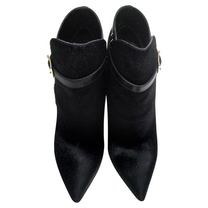Burberry Ankle boots with pony fur trim