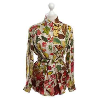 Hermès Bluse aus Seide