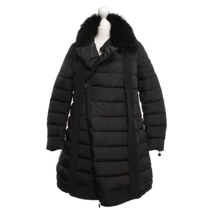 Moncler Down coat with fur trim