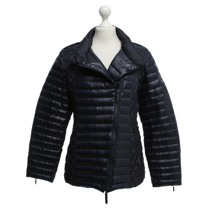 Airfield Down jacket in blue