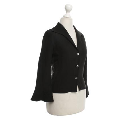 Armani Collezioni Blouse top in black
